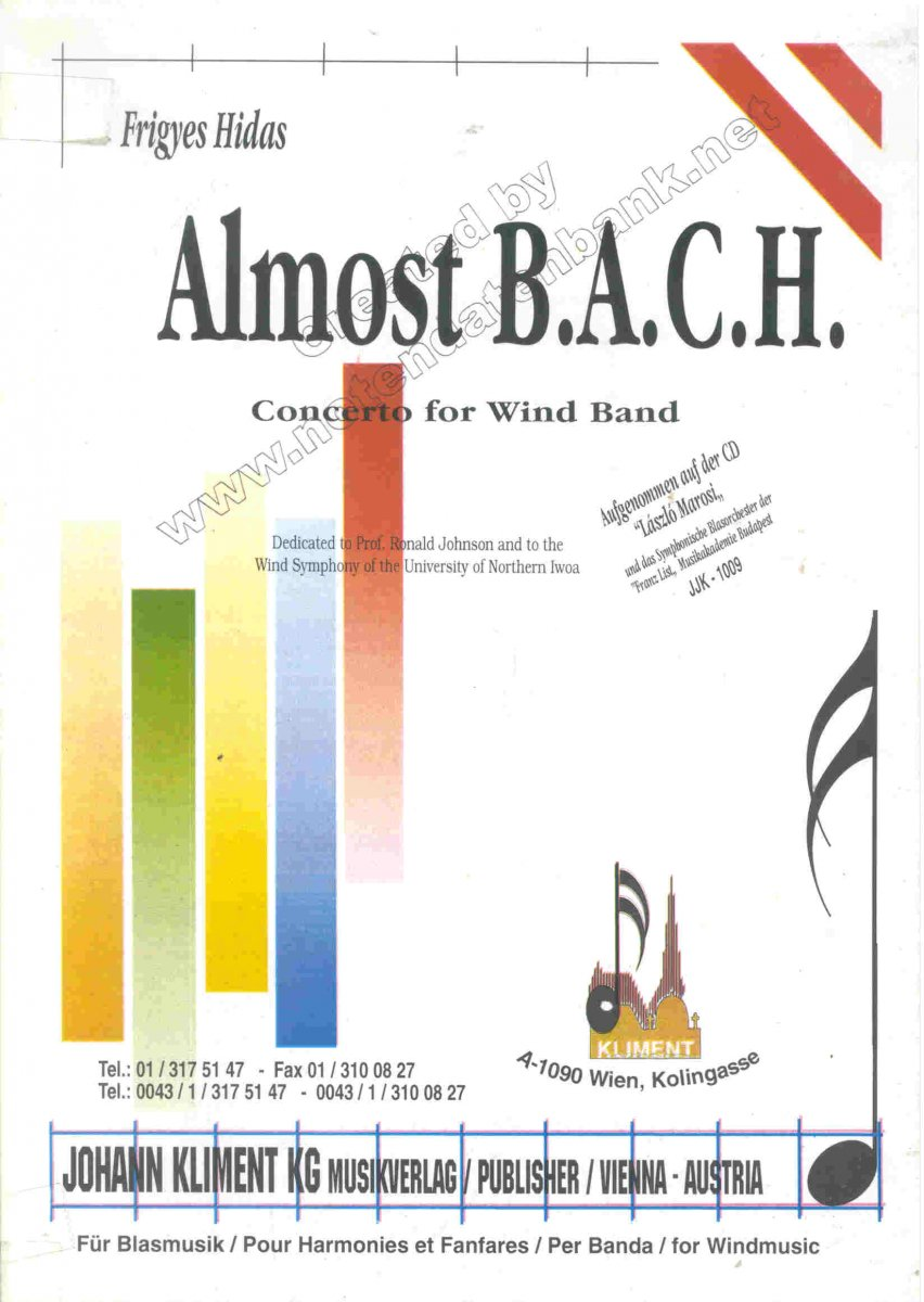 Almost B.A.C.H. - hier klicken